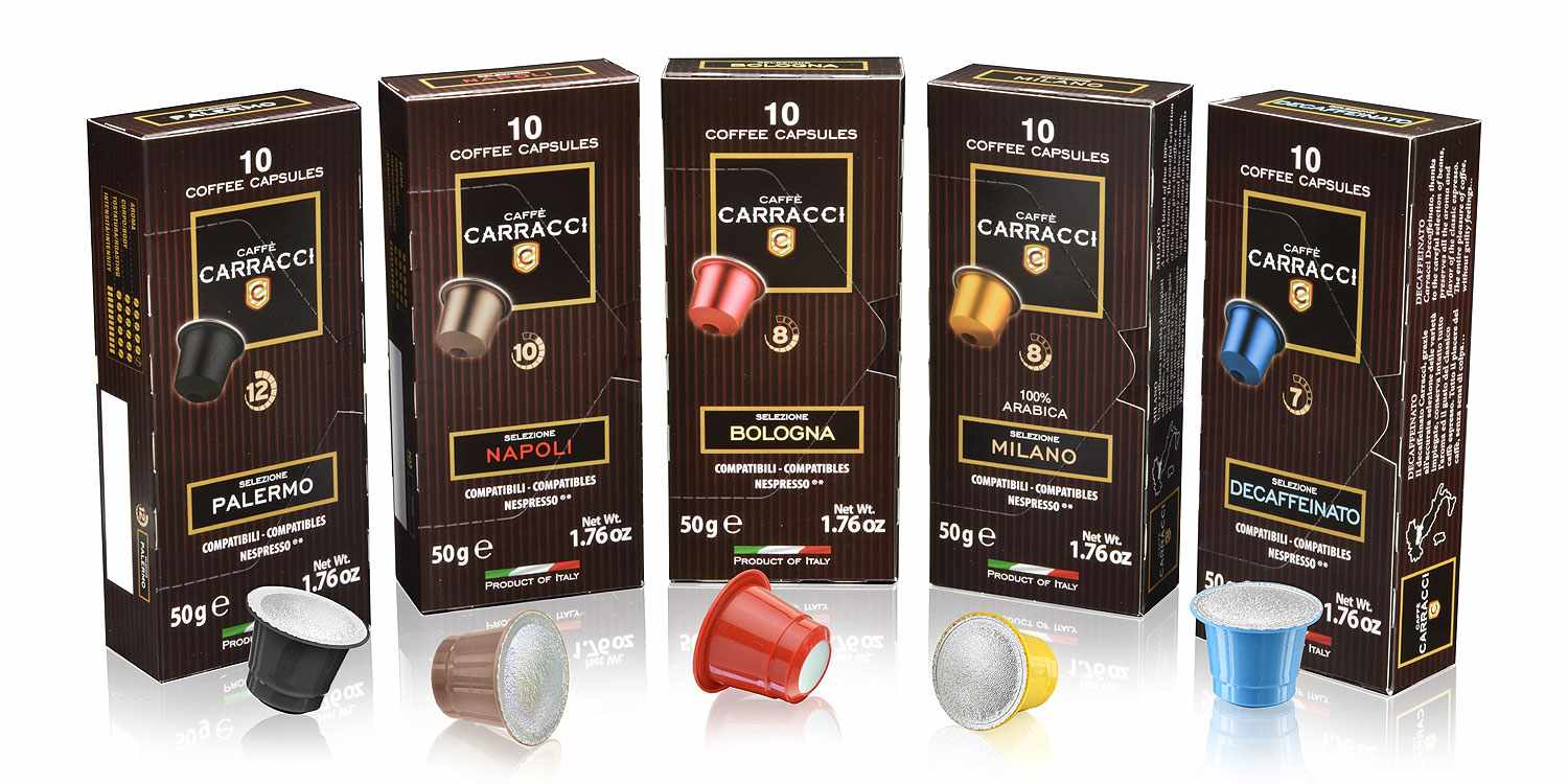 100 Coffee Capsules Compatible With Nespresso® Mixed Pack - photo