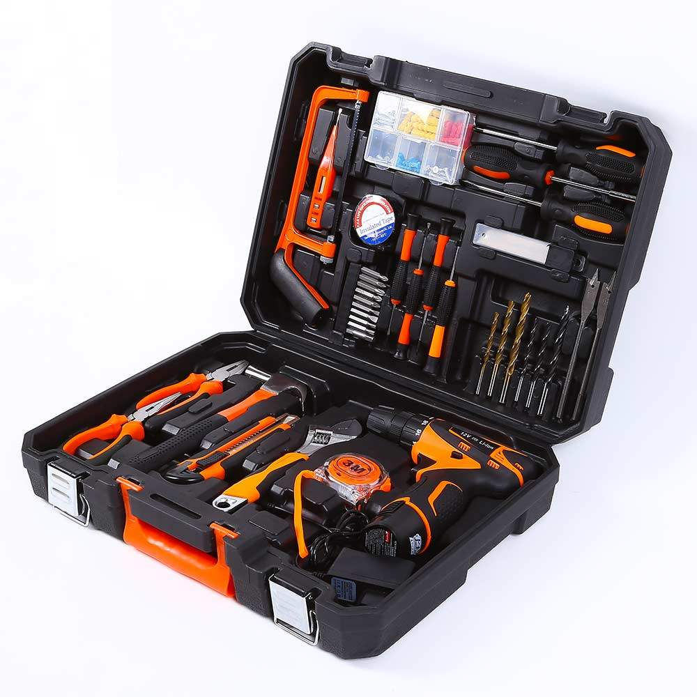 Tool Case Set Work Tools Screwdriver Drill 334 Pieces Smart-Extra - best