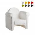 Armchair chair for home and public premises Easy Chair Slide