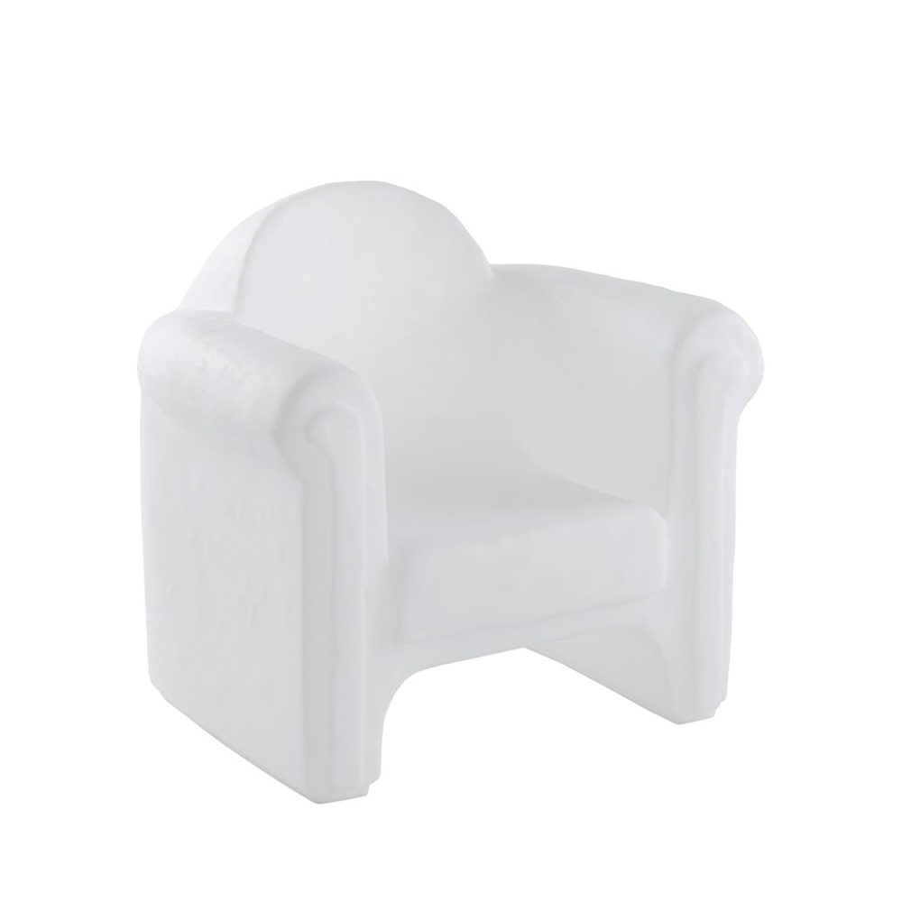 Armchair luminous design chair for home and work premises Slide Easy Chair - details