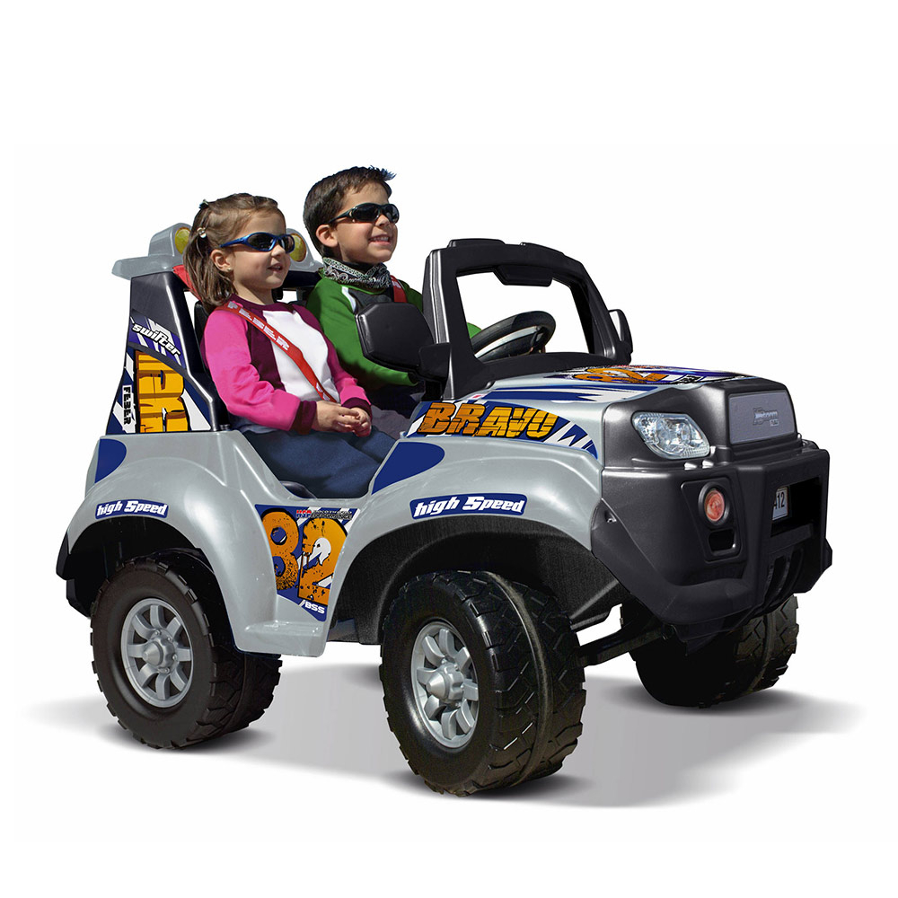 Electric car for children Jeep Suv Offroad Feber X Storm Bravo 12V - discount