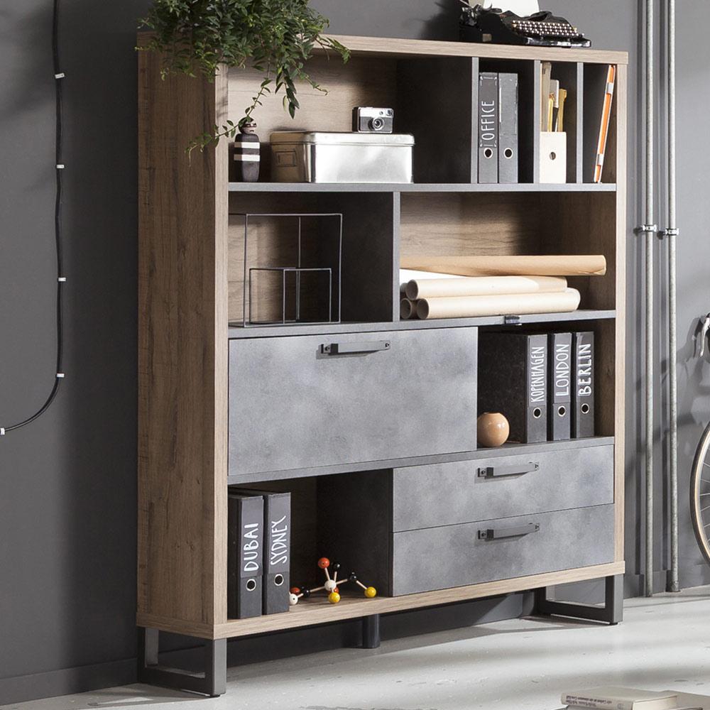 industrial design bookcase TURNER