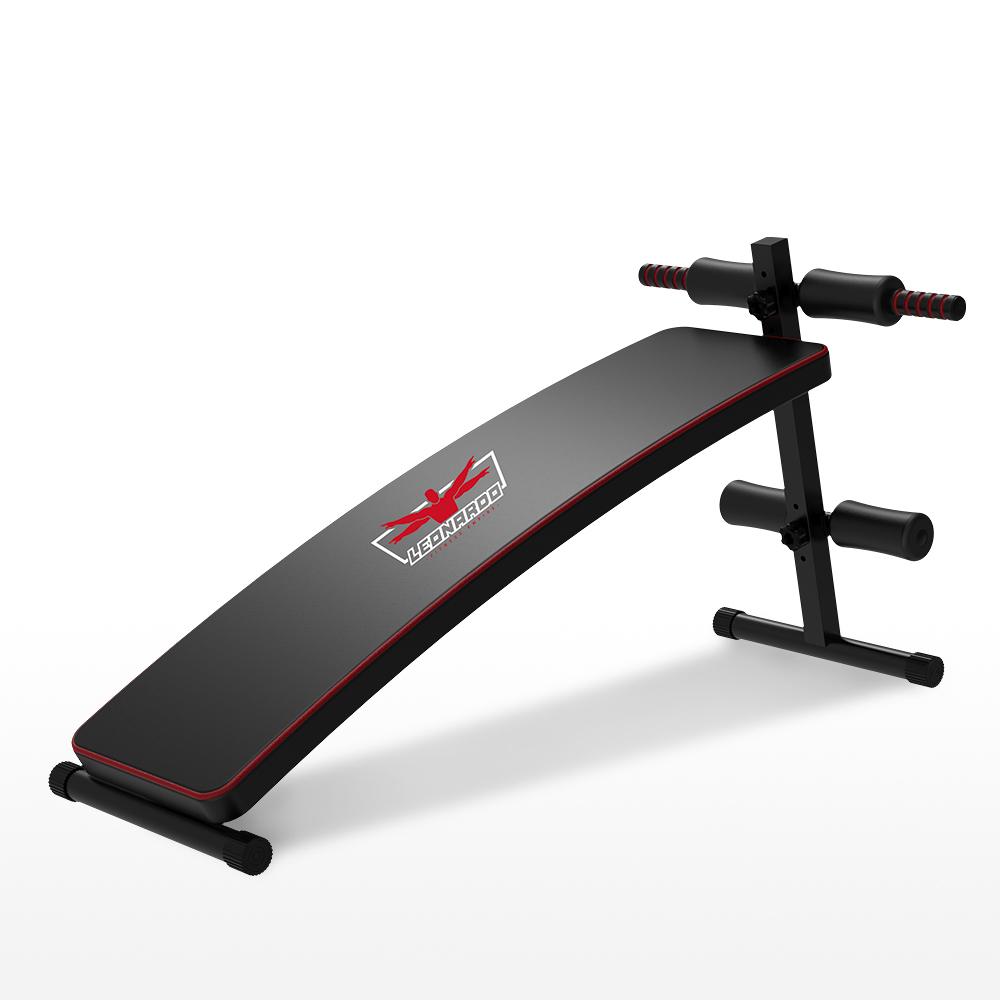Multifunction space-saving adjustable curved sit-up abdominal bench Tengu