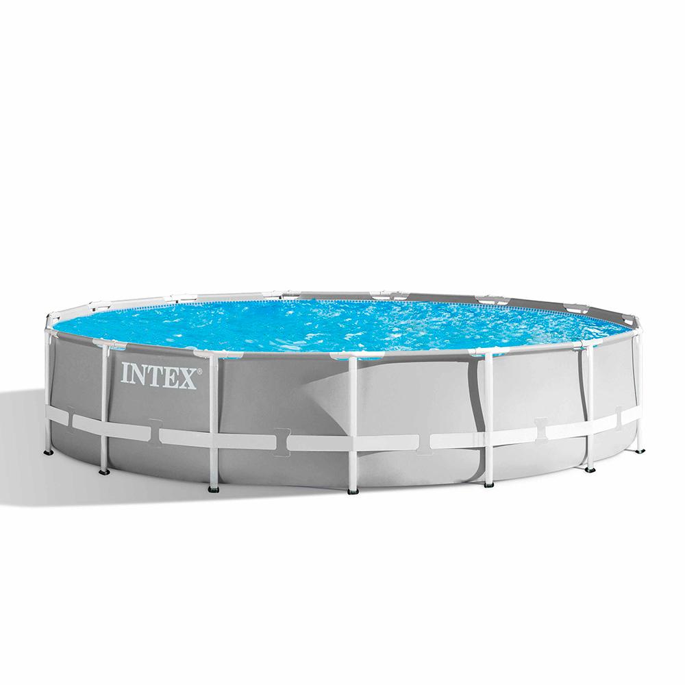 Intex 26724 ex 26734 Prism Frame Round Above Ground Pool 457x107 cm - price