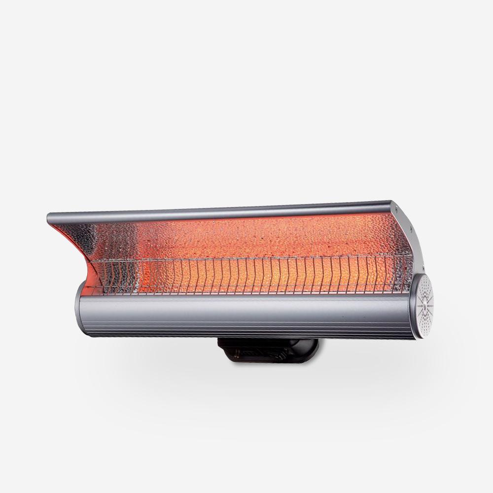 Infrared wall heater internal external heater Lys