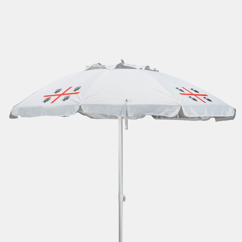 Quattro Mori 200cm Beach Umbrella With Wind Vent