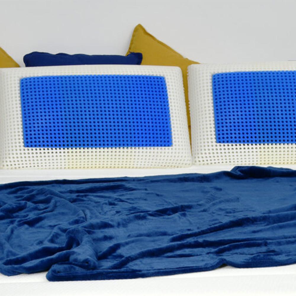 Pair of pillows pillows memory foam cervical breathable Veradea Unico Bis