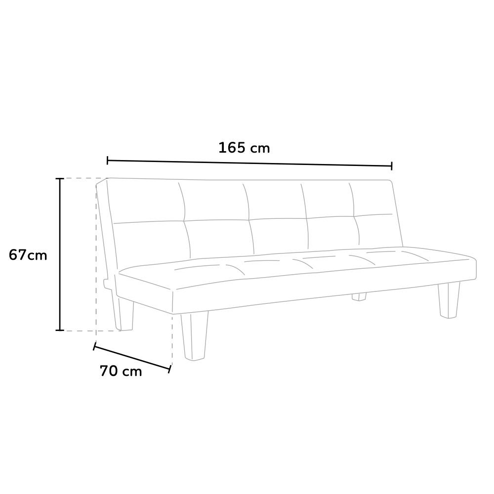 sofa bed Topazio living