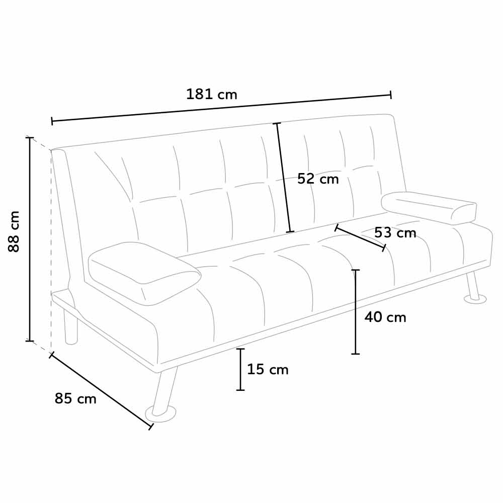 prontoletto sofa bed Olivine